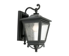 Nottingham Exterior Wall Light - Black