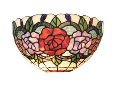 Red Rose Wall Light