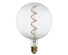 Vintage 4W E27 LED G150 Dimmable Spiral Filament Bulb