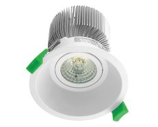 Deep 13 Watt Dimmable Round LED Downlight White / Warm White - 20552