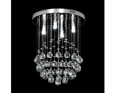 Jupiter 12 Watt LED Crystal Pendant Small / White - 35000