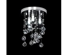 Starlight 9 Watt LED Crystal Pendant Round / White - 35030