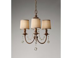 Clarissa 3 Light Chandelier