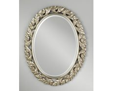 Leaves Oval Mirror
