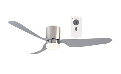 City Dc Low Profile Ceiling Fan 1300mm 52 Quot With Dimmable