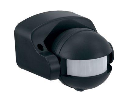 Motion Sensor 180 176 Wall Under Eave Mount Black Lw7802bk