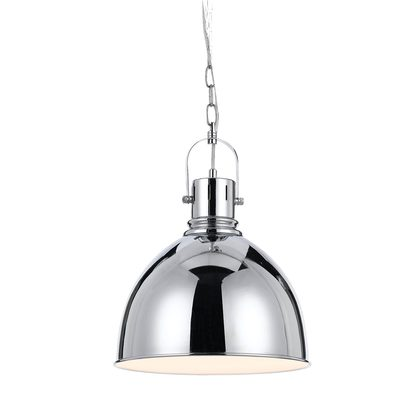 Market 1 Light Chrome Pendant