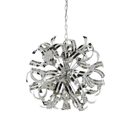 Merino 8 Light Pendant Large Chrome Merino Pe8 Ch