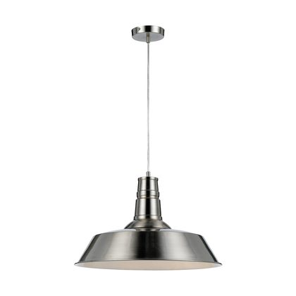 Catino 1 Light Nickel Pendant