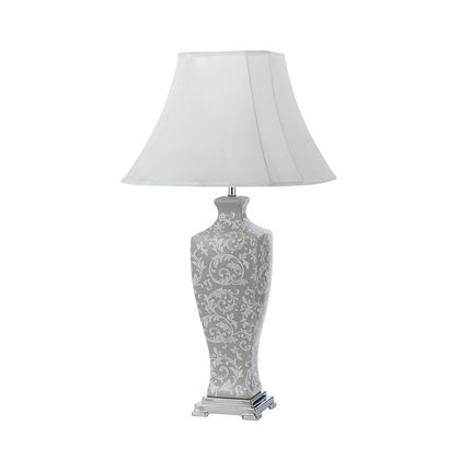 Dono Grey Large Table Lamp