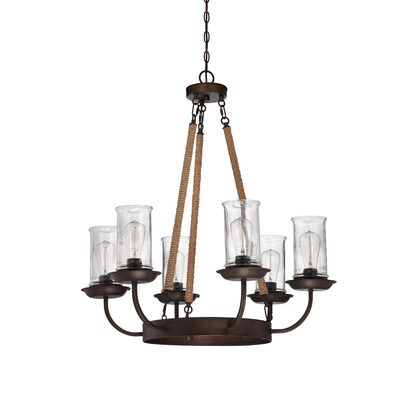 Fairmount 6 Light Pendant