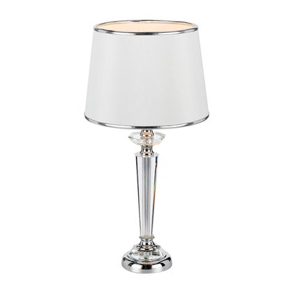 Diana Chrome Table Lamp