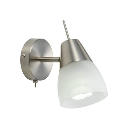 Gibson Wall Lamp Brushed Nickel