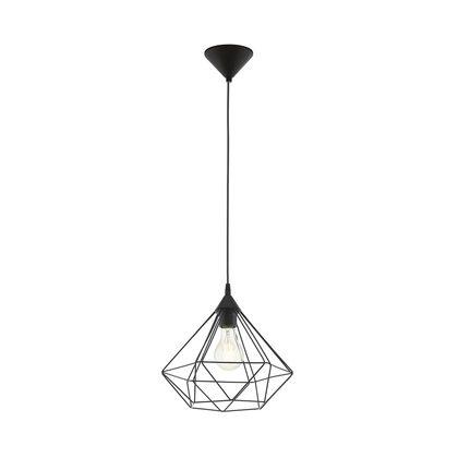 tarbes 1 light large cage pendant black 94188. Black Bedroom Furniture Sets. Home Design Ideas
